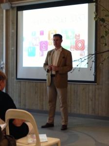 Föredrag om Framtidens Trelleborg i historisk miljö, Vikingamuseet på Trelleborgen
