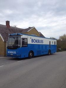 En av många investeringar - den nya bokbussen. En viktig del av Trelleborgs kommuns verksamhet.