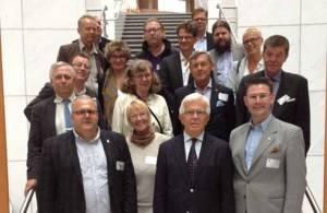 Nämndernas ordföranden och förvaltningschefer från Trelleborg på besök i Bryssel 2013