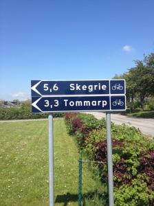 Vi levererade den sedan länge lovade och efterlängtade cykelvägen från Trelleborg till Skegrie och Västra Tommarp.