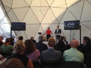 Föredrag under Mötesplats Skåne om Trelleborg - den kärleksfulla staden
