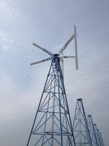 Ett av sex vindkraftverk på plats för långsiktigt hållbara lösningar i  Trelleborg