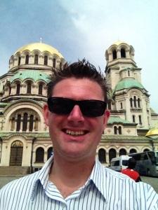 På besök i Bulgariens huvudstad Sofia, nummer 31 av besökta europeiska huvudstäder.