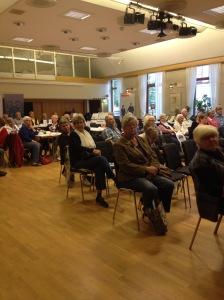 Internationella äldredagen, den 1 oktober,  firas i Parken i Trelleborg