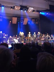 Veckan avslutades med underhållning. Amiralens Storband, Z Big Band med solisterna/gästartisterna Nisse Landgren och Magnus Johansson.