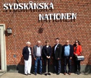 Lunch mellan Sydskånska Nationen och hemmakommunerna
