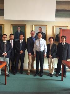 Besöket från Chongqing i Trelleborg