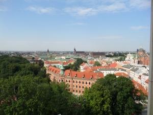 Utblick över Krakow