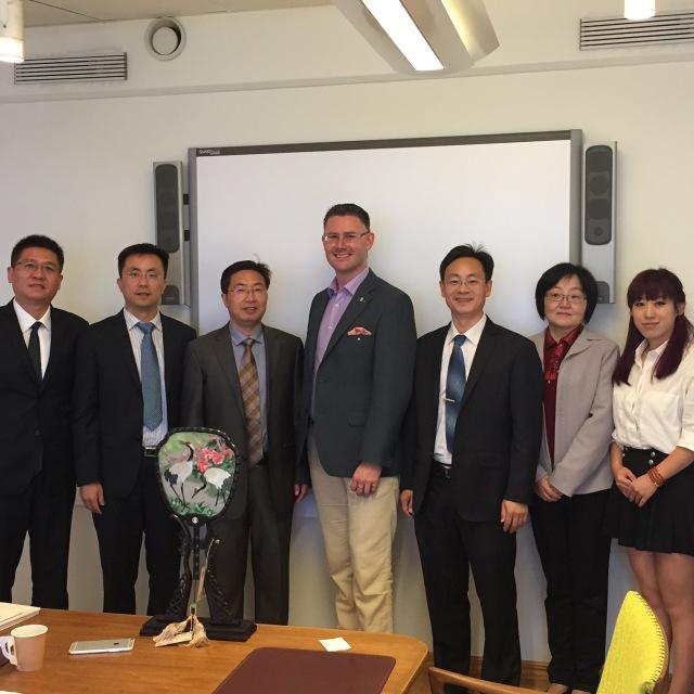 Delegationen från Jiangsu