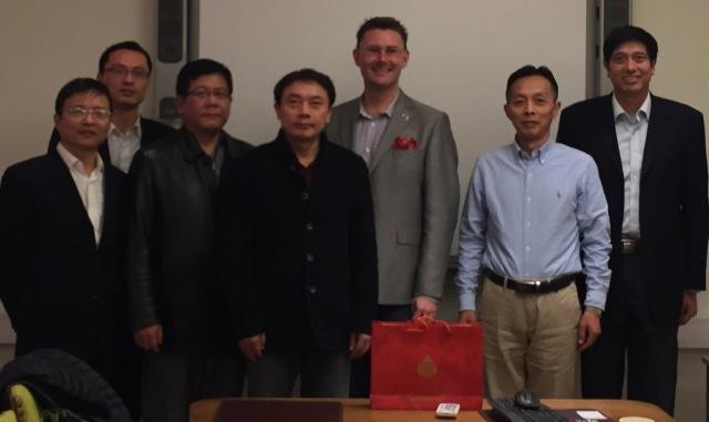 Delegationen från Changzhou på besök i Trelleborg