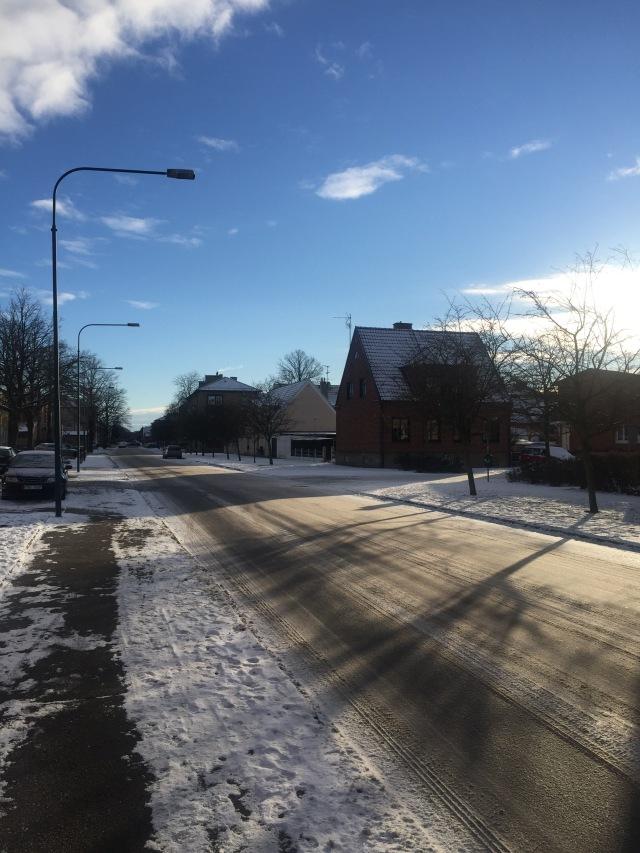 En vacker vinterdag i Trelleborg