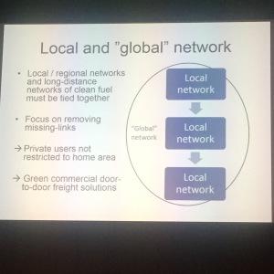Gillar synliggörandet av att det är det lokala tillsammans med det lokala och det lokala som ger det globala.
