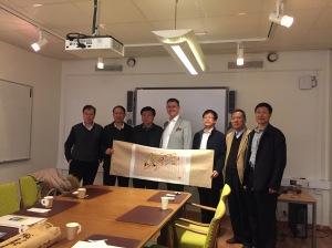 Besök från Gansu Local Taxation Bureau