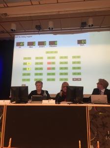 Tydligt ställningstagande för Trelleborgs kommuns utveckling. 47 för utveckling, två mot, två vågar inte utveckla.