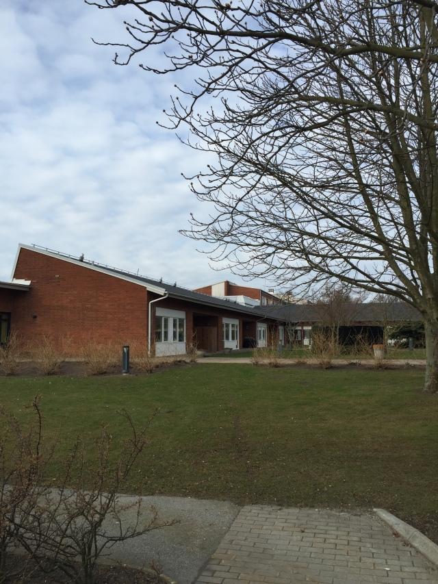Den palliativa avdelningen vid Lasarettet i Trelleborg