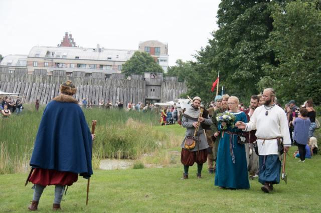 Vikingavigseln på Trelleborgen