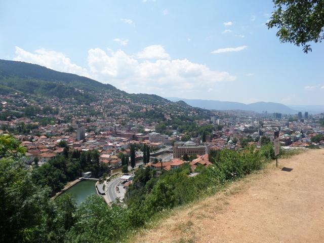 Sarajevo - en vacker, spännande, trevlig, intressant stad att besöka