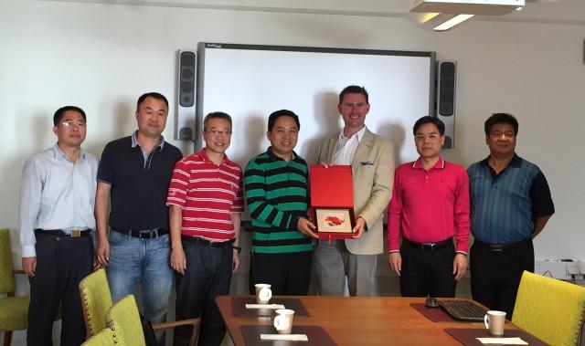 Delegationen från Guangdongprovinsen