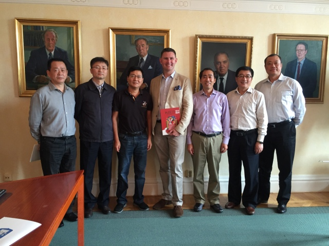 Delegationen från Anhuiprovinsen