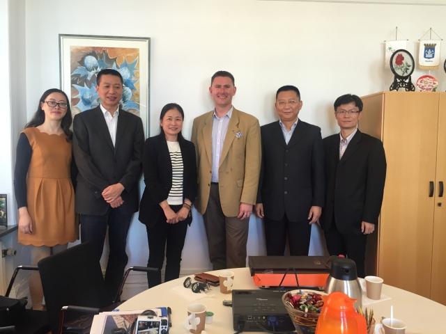 Delegationen från Zhejiang