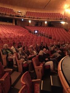 Synskadades förening på plats på Malmö Opera