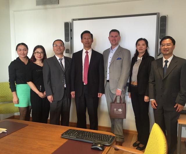 Delegationen från Yunnan