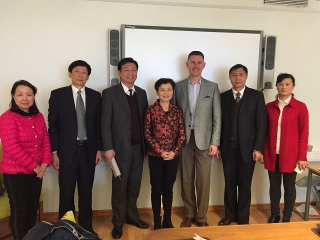 Delegationen från Hubeiprovinsen