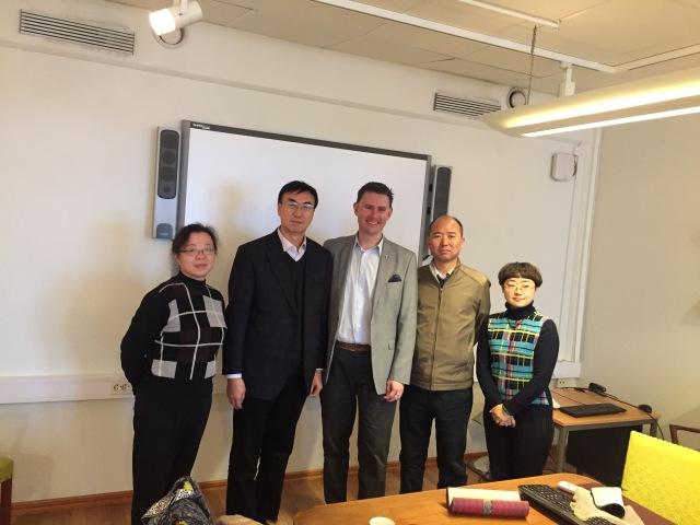 Delegationen från Gansuprovinsen