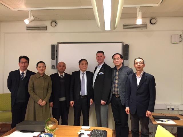 Delegationen från Shanghai med stort fokus på vuxen- och yrkesutbildning