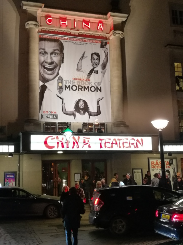 The Book of Mormon på China Teatern i Stockholm