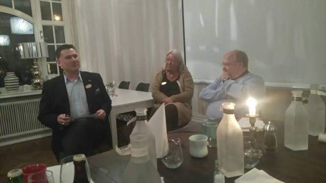 SnabbEGO - vi återbekantade oss med medlemmarna Ingrid Wall och Peter Lindbäck