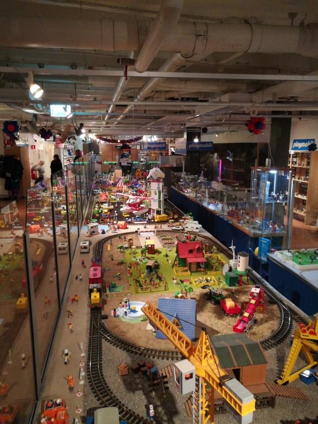 Studiebesök på Toy World i Helsingborg