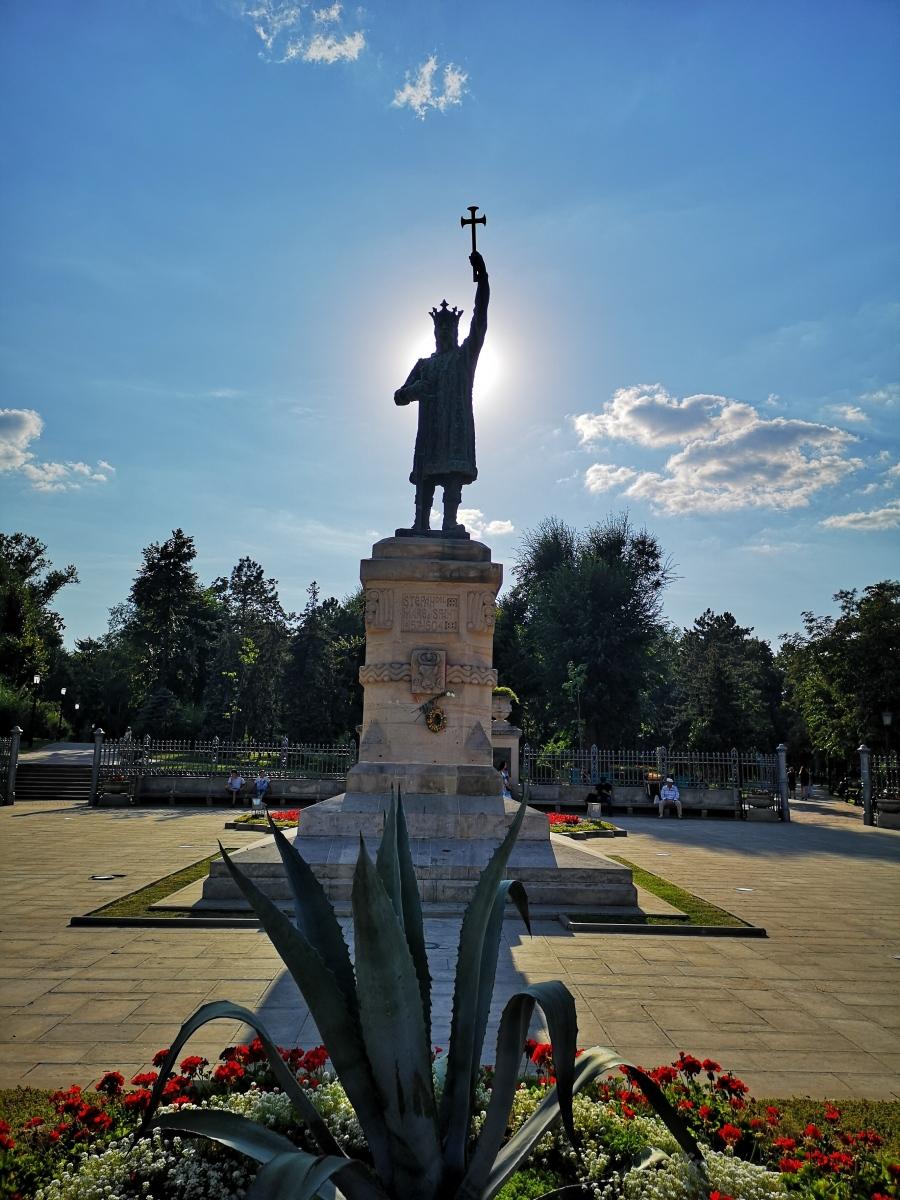 Staty med Stefan den store