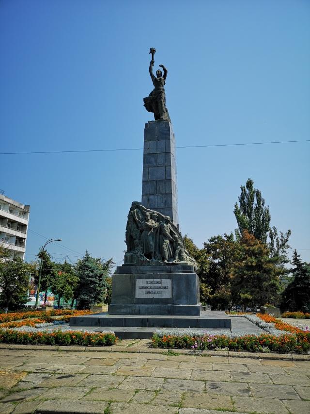 Monumentet Komsomols hjältar