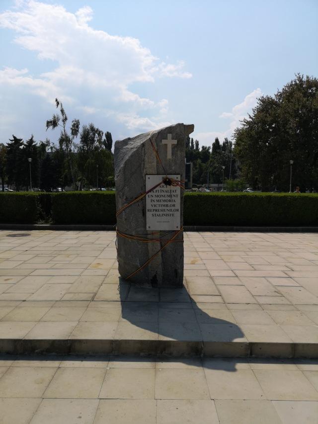 Minnessten över stalinismen