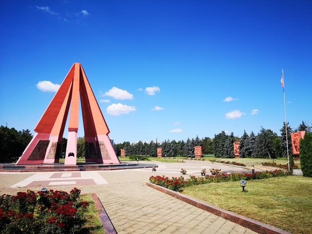 Monument över Andra världskrigets offer i Chisinau