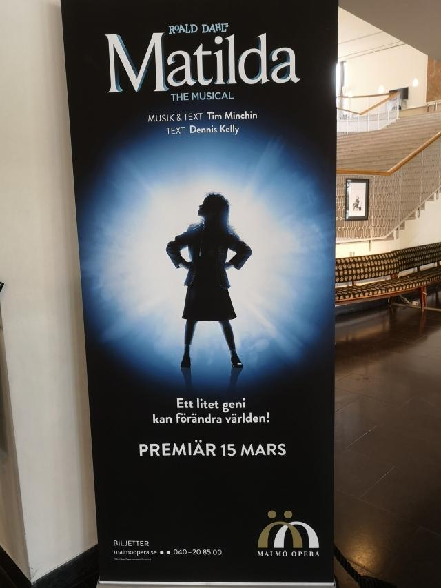 Malmö Opera redo för musikalen Matilda