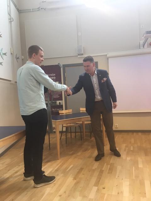 Rotary delar ut Sonja Kovalevsky stipendiet i Trelleborg