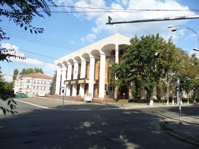Regeringsbyggnad i Chisinau
