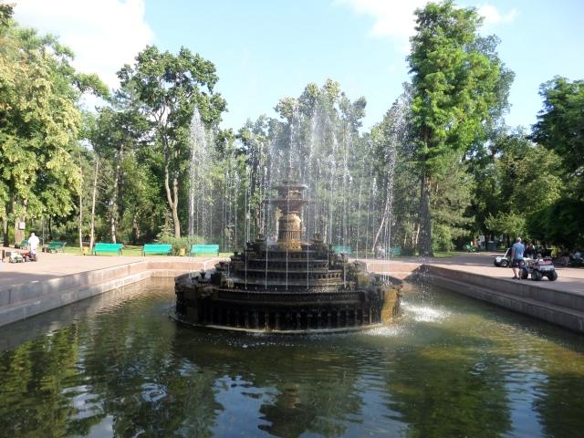 Fontän i Chisinau