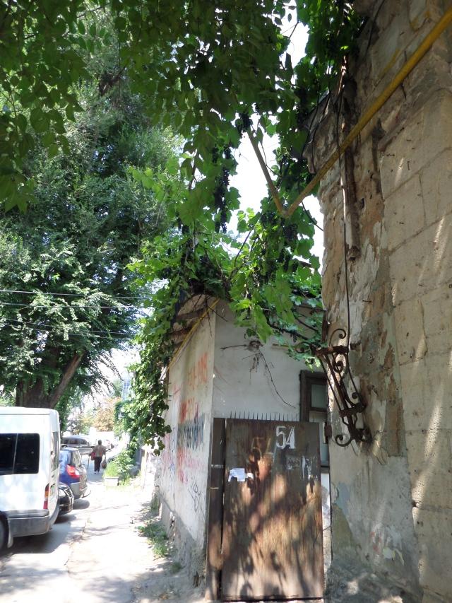 Vinklasar vid en fasad
