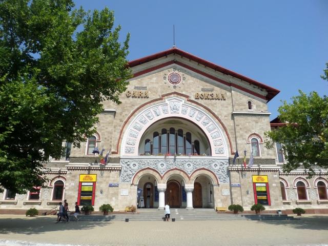 Järnvägsstationen i Chisinau