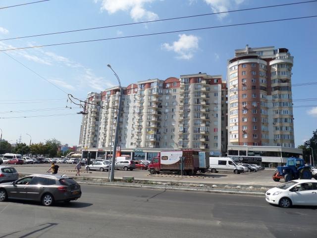 Nybyggt flerfamiljshus i Chisinau
