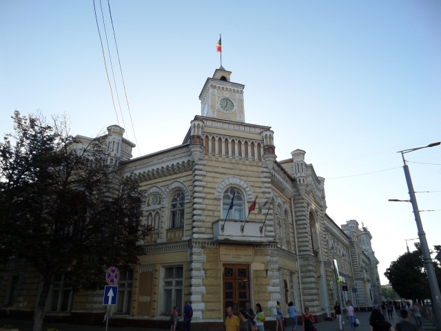 Rådhuset i Chisinau