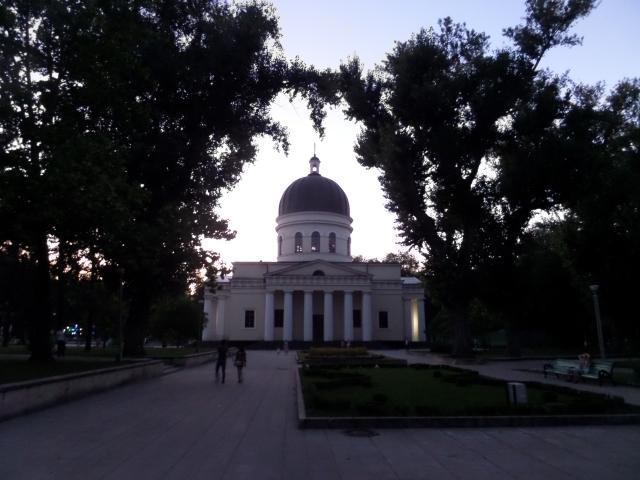 Katedralen i skymning