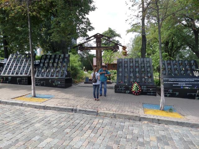 Insamling för ukrainas veteraner och offer