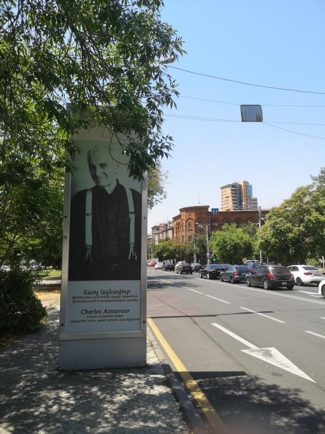 Hyllning till en känd armenier