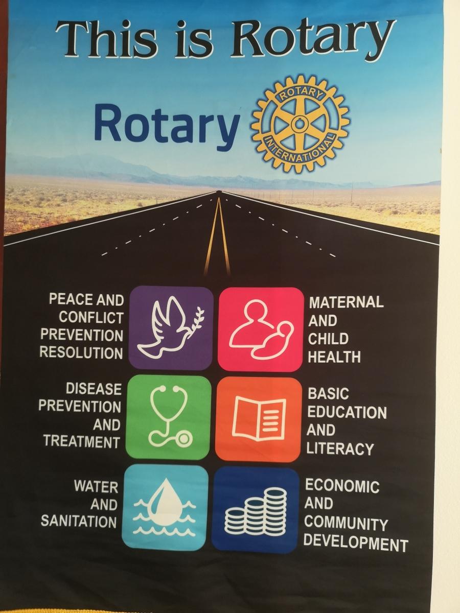 De sex fokusområdena inom Rotary